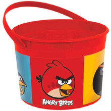 Angry Birds Plastic Favor Bucket Container ( 1pc )