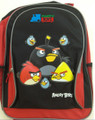 "Angry Birds Large 16"" Backpack Book Bag Sack School Angrybirds Allb"