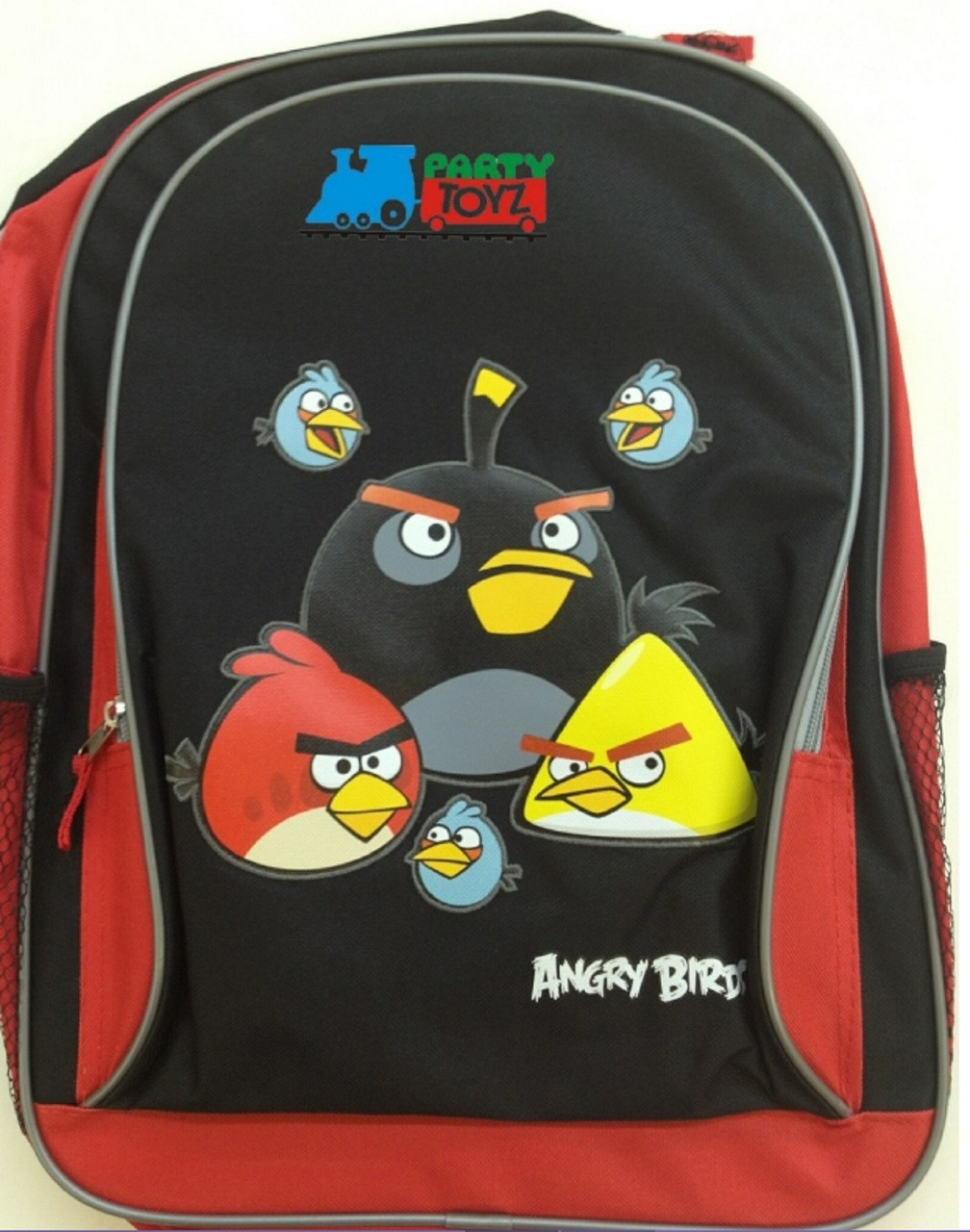 """Angry Birds Large 16"""" Backpack Book Bag Sack School Angrybirds Allb"""