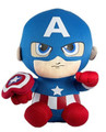"TY Beanie Babies 6"" Inch Captain America Plush"