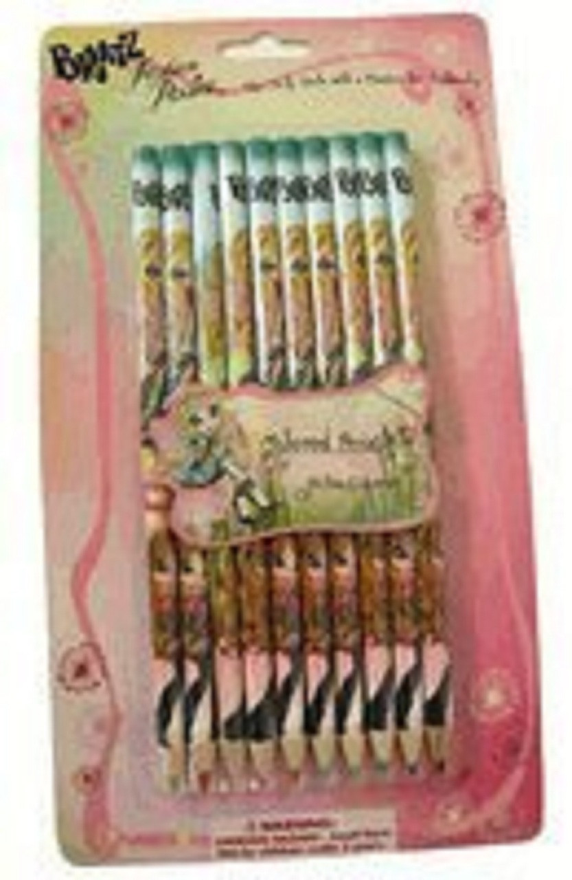 Bratz Pack of 10 Colored Pencils