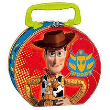 Toy Story  Round Tin Box - Woody And Buzz