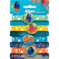Finding Dory Pack of 4 Bracelets