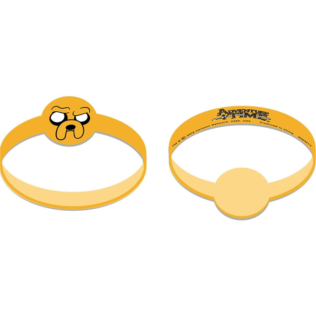 Adventure Time Pack of 4 Rubber Bracelets