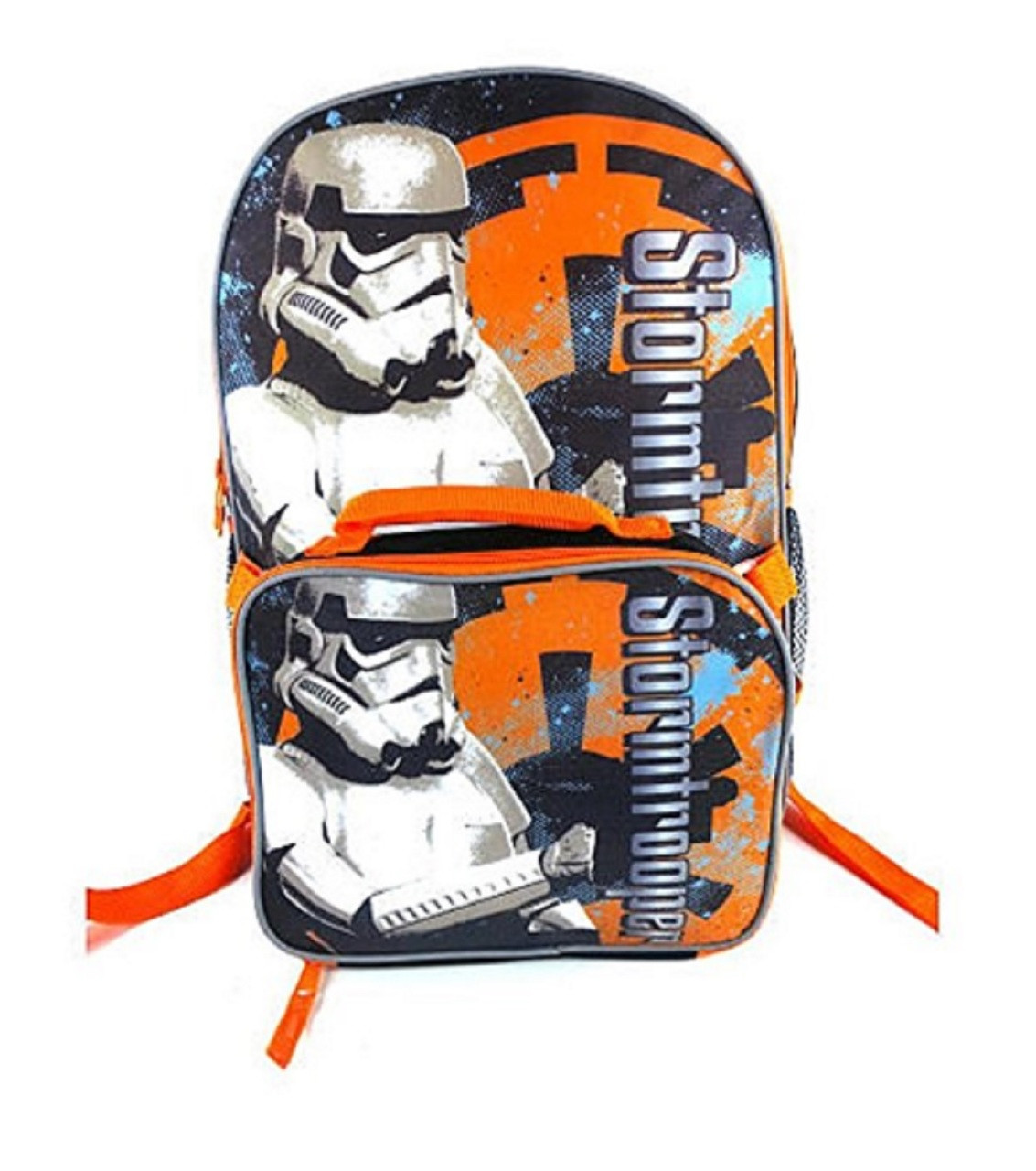 Star Wars Large Backpack with Detachable Lunch Box - Storm Trooper