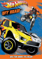 "Hot Wheels Big Fun Book to color ""Off Road"""