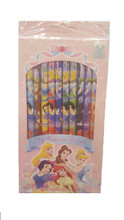 Princess Pack of 12 Colored Pencils -Cinderella, Snow White, Little Mermaid