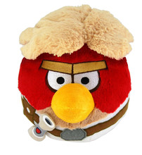 Angry Birds Star Wars Large 16 Inch Plush Toy  Red Bird - Luke Skywalker