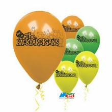 Backyardigans Pack of 6 Latex Rubber Balloons (Helium Quality)