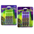 Teenage Mutant Ninja Turtles Pack of 4 Mini Flutes (Colors Chosen Randomly)