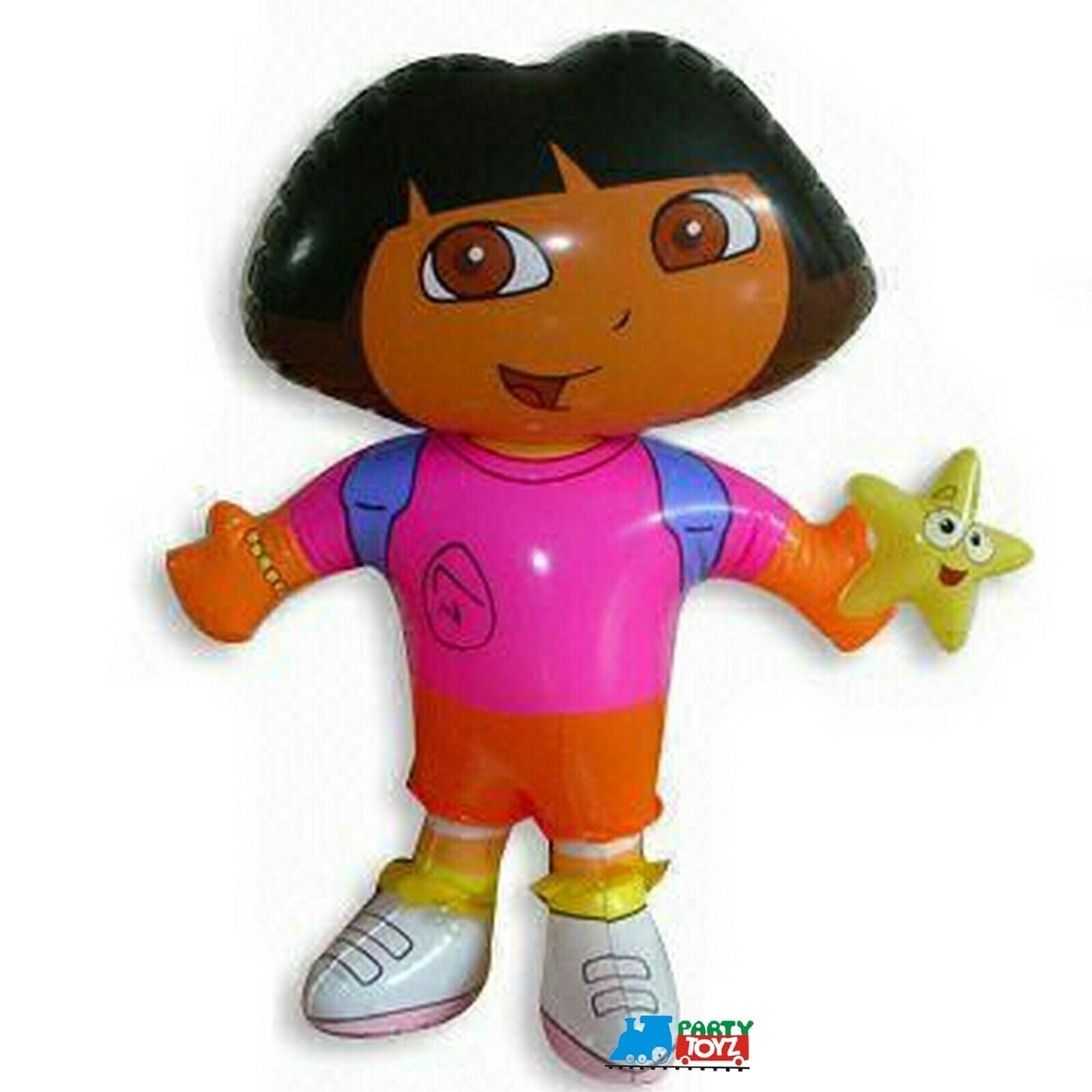 """Dora the Explorer Small 24"""" Inflatable Toy Inflate"""