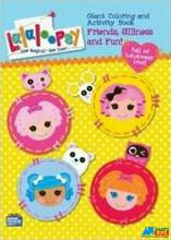 Lalaloopsy Jumbo 64 pg. Coloring and Activity Book - Yellow