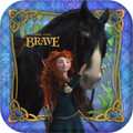 Princess Merida Brave 7 Inch Party Cake Dessert Plate