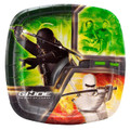"G I Joe Small 7"" Pocket Compartment Cake Dessert Plates"