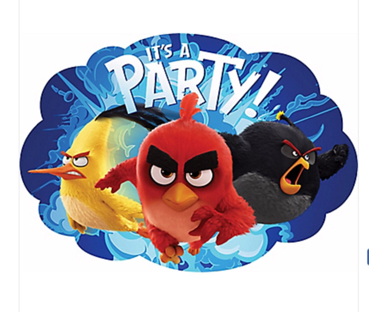 Angry Birds Movie Pack of 8 Invitations