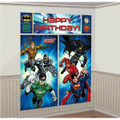 Justice League Giant Scene Setter Wall Decorating Kit