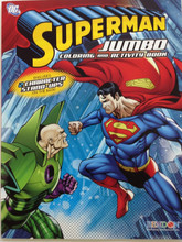 Superman Jumbo 64 pg. Coloring and Activity Book - Lex Luthor