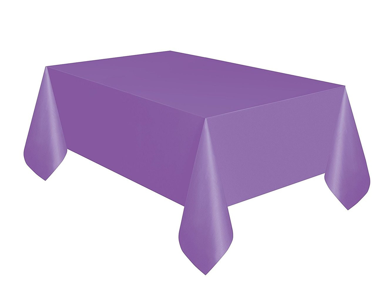 Purple Table cover party birthday decoration