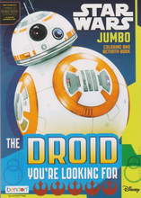 Star Wars Jumbo Coloring and Activity Book - The Droid You're Looking For