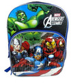 "Avengers Assemble Large 16"" Backpack - Hulk, Ironman,Thor, Captain America"