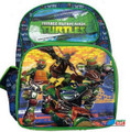 Teenage Mutant NInja Turtles Large Cloth Backpack - Top Bottom