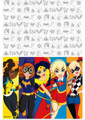DC Superhero Girls Plastic Table Cover