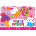 Sweet Shop Pack of 8 Invitations