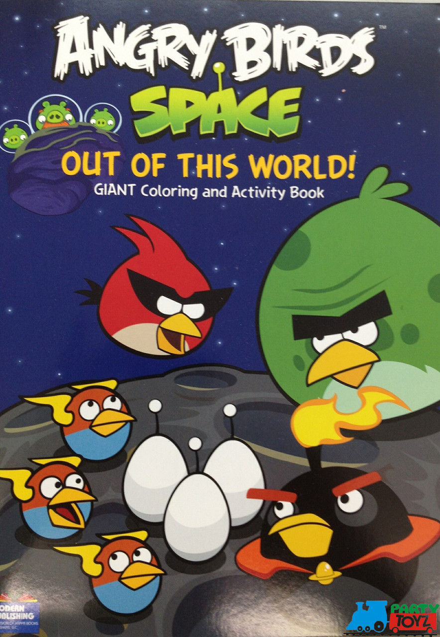 Angry Birds Space 96P Giant Coloring and Activity Book - Out of This World