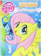 My Little Pony Jumbo 96 pg. Coloring And Activity Book - Fluttershy