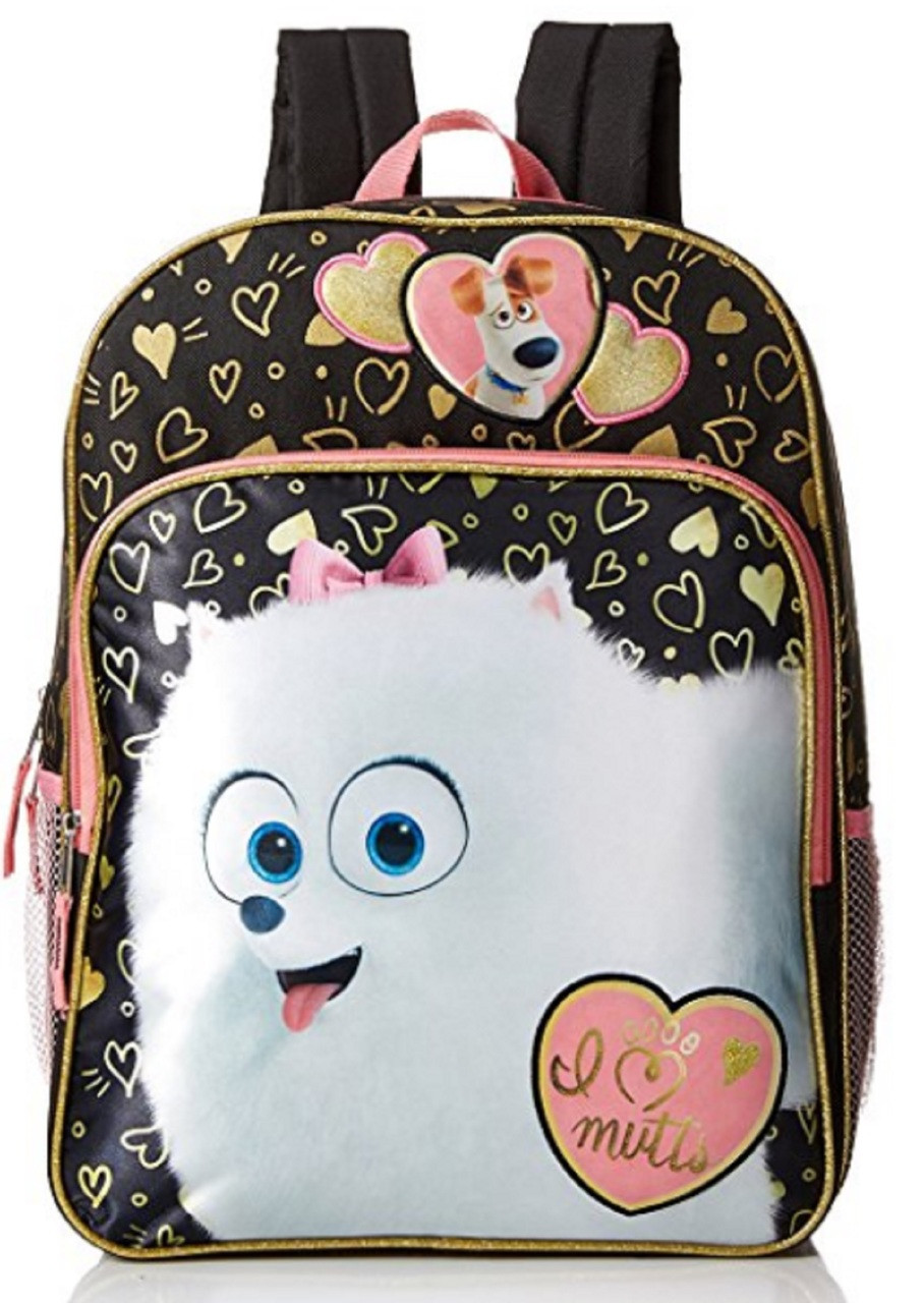 Secret Life of Pets: I Love Mutts Large Backpack