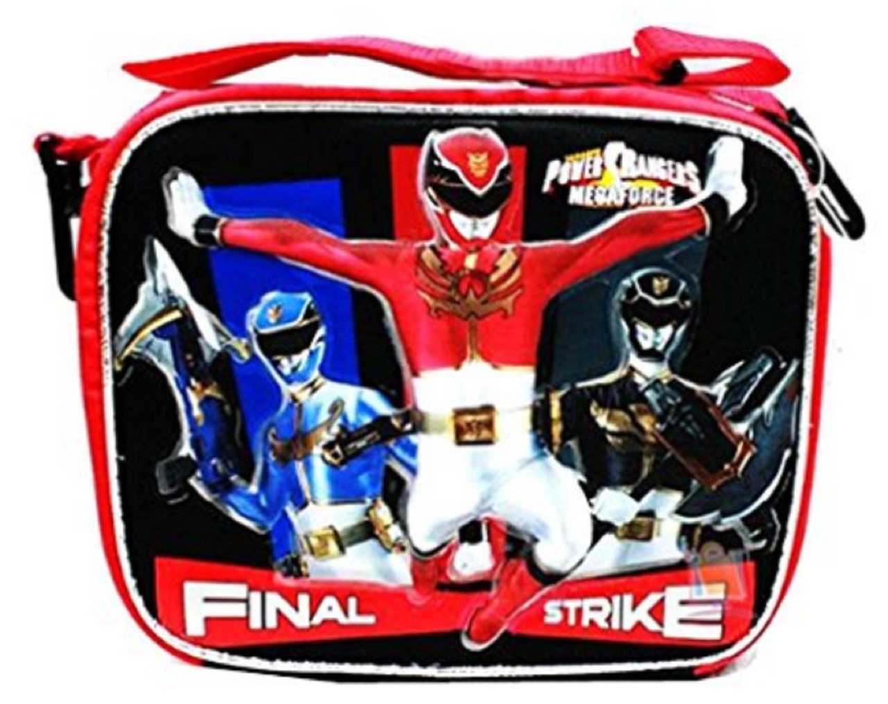 Power Rangers Megaforce Cloth Insulated Fabric Lunch Box