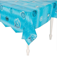 Avengers Assemble Plastic Table Cover Tablecover - All Blue