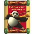 Kung Fu Panda Pack of 8 Invitations