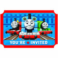 Thomas the Train (Tank) Pack of 8 Invitations