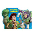 Toy Story Pack of 8 Invitations - Save the Date Stickers