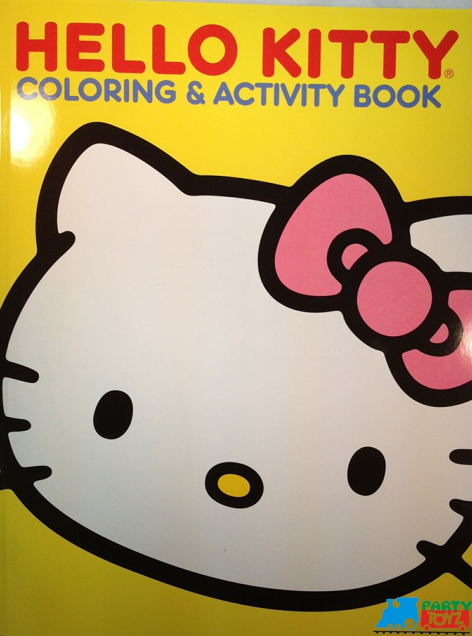 Hello Kitty 60 pg. Coloring and Activity Book - Yellow