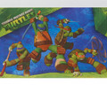 Teenage Mutant Ninja Turtles Paper Tablecover Table Cover