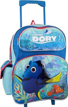 Finding Dory Large Rolling 16 Inch Backpack