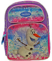 "Frozen Olaf Large 16"" Cloth Backpack Back Pack"