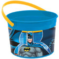 Batman Plastic Favor Bucket Container ( 1pc )