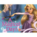 "Tangled Princess Rapunzel Invitations with Envelopes ""A Magical Day"""