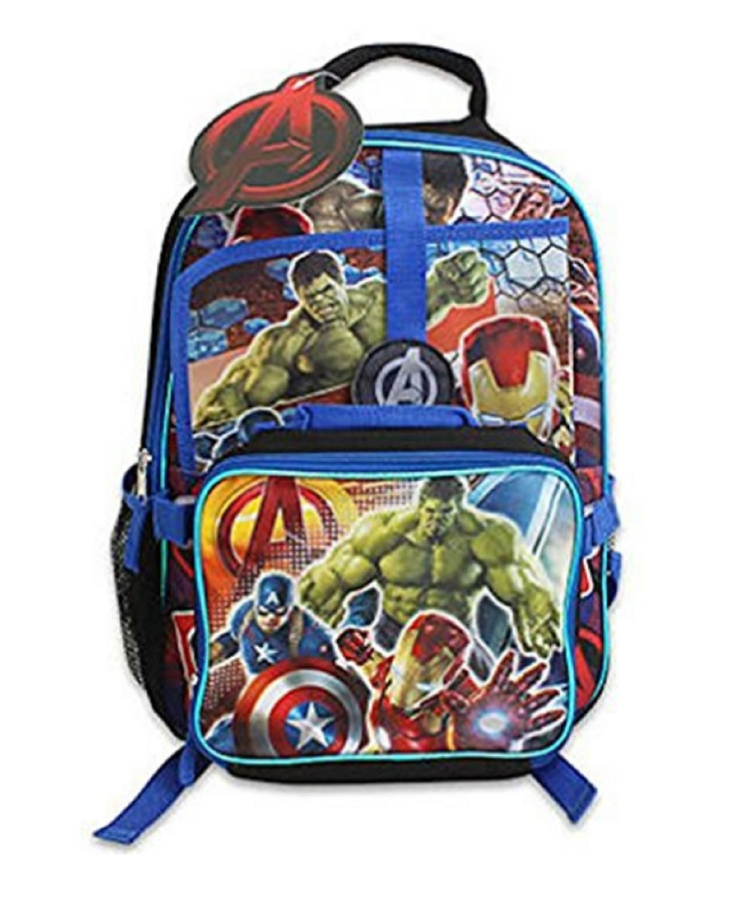 Avengers Notebook Backpack with Lunchbag