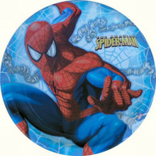 Spiderman Large 9 Inch Round Lunch Dinner Plates