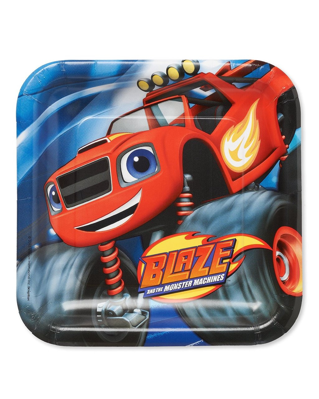 Blaze and the Monster Machines 9 Inch Large Lunch Plates