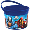 Marvel Avengers Assemble Plastic Favor Bucket Container ( 1pc )