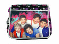 One Direction 1D Large Messenger Sling Book Laptop Bag - Pink