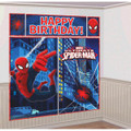 Ultimate Spiderman Giant Scene Setter Wall Decorating Kit