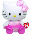 "Hello Kitty Medium TY Beanie Buddy 11"" Plush Toy - Ballerina"