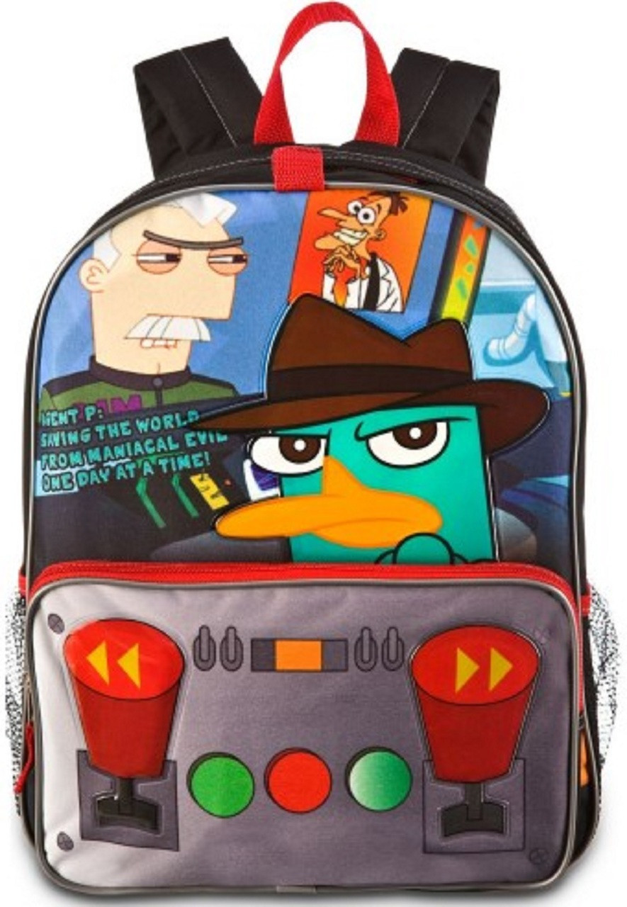 Phineas and Ferb Agent Perry Large 16 Inches