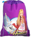 Drawstring Bag - Hannah Montana Purple Cloth String Bag